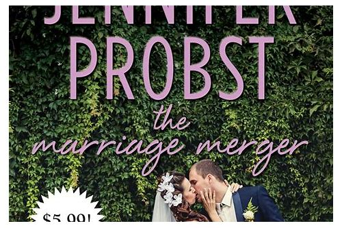 the marriage merger probst jennifer