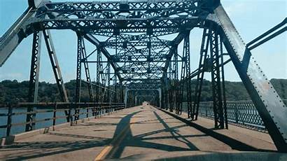 Bridge River Crossing Log Bum Bridging Valley