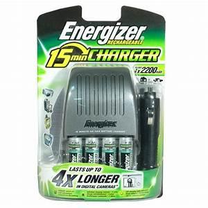 Chargeur De Piles Universel : energizer chargeur 15 min 4 piles rechargeables ni mh ~ Melissatoandfro.com Idées de Décoration