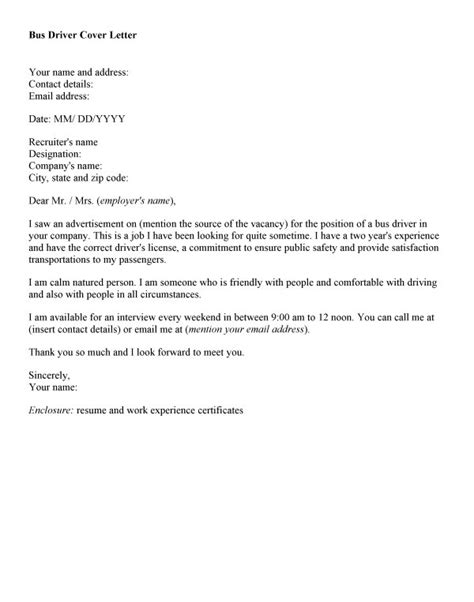 sle resume for job change coach driver cover letter
