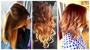 Ombré Hair Cuivré : 10 colorations de cheveux qu 39 il faut absolument essayer ~ Melissatoandfro.com Idées de Décoration