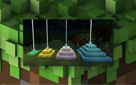 build  beacon full guide   beacon minecraft minecraft pyramid  minecraft