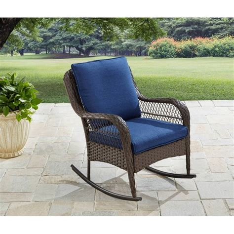 homes gardens colebrook outdoor rocking chair
