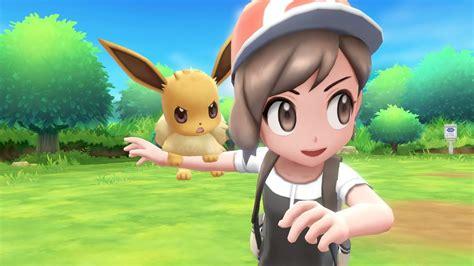 pokemon lets  pikachu  eevee  bring