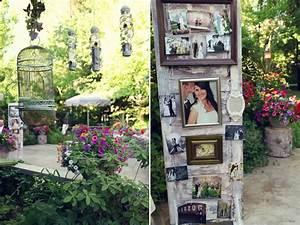 A vintage spring garden wedding glamour grace for Vintage küchenutensilien