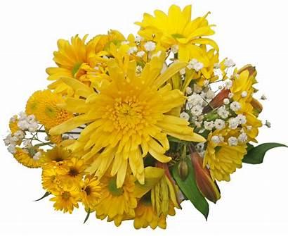 Mellow Yellow Grove Orange Flowers Bouquet