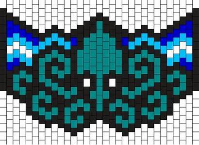 Kandi Mask Bead Pattern Patterns Kraken Clipart