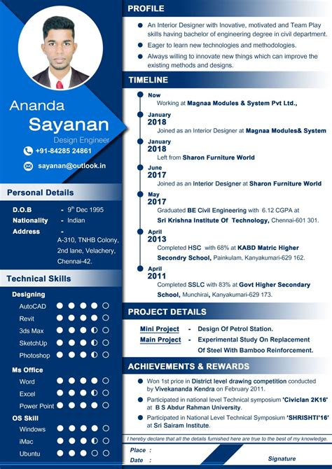 Top Cv Templates by Professional Resume For Designer Curriculum Vitae Best