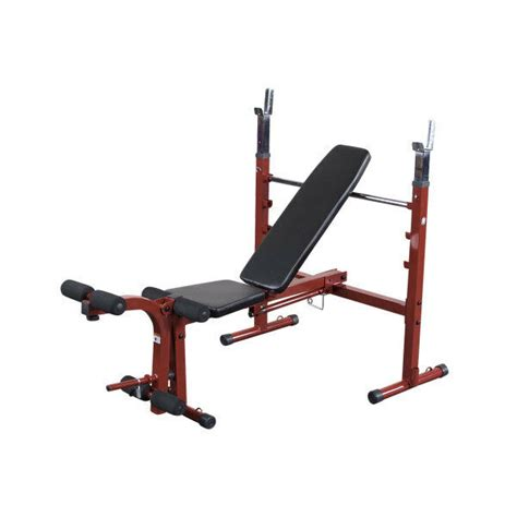Exertec Fitness Bench by Best Fitness Olympic Bench With Leg Developer Bfob10 New