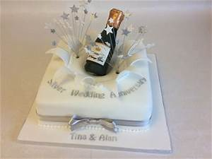 wedding anniversary cakes reading berkshire south With silver wedding anniversary ideas