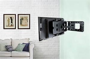 Corner TV Wall Mount for Flat Screen TVs — THE CLAYTON Design