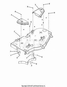 Ariens 915205  000101 -   Ikon-x 52 Parts Diagram For Belt Covers And Baffles
