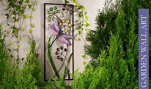 Outside wall decorations garden outdoor