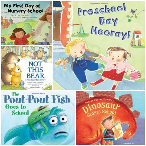 encouraging books about the day of preschool 521 | preschool collage2