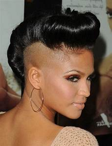 Top 15 Most Badass Shaved Hairstyles For Black Women 2018