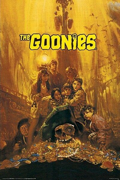 goonies treasure   poster josh brolin sean
