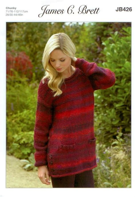 james  brett jb knitting pattern womens sweater