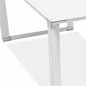 Bureau D Angle Design : bureau d 39 angle design hovik verre blanc ~ Teatrodelosmanantiales.com Idées de Décoration