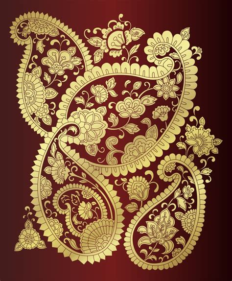 traditional paisley floral motifs textile rajasthan