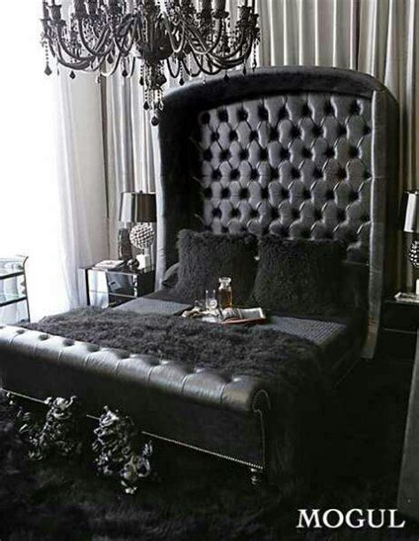 crystal table ls for bedroom omg we 39 re in love all black everything black tufted