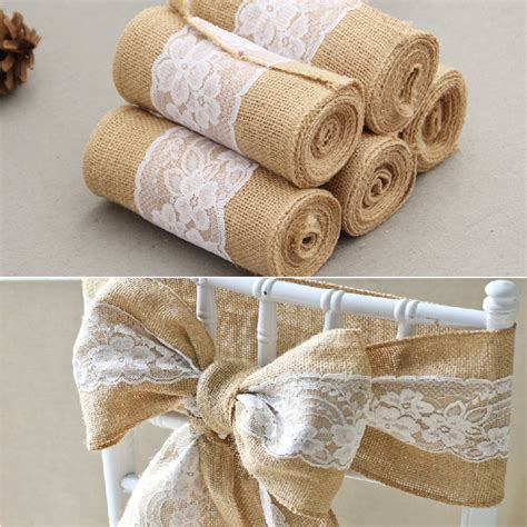buy wholesale burlap chair covers from china burlap