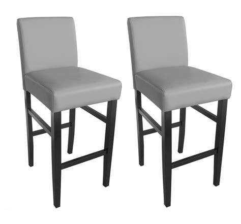 chaise haute cuisine grise