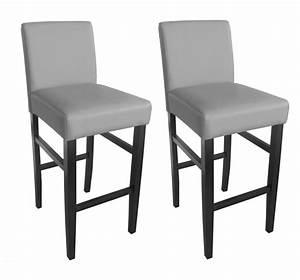 Chaise Cuisine Haute : chaise haute cuisine grise ~ Teatrodelosmanantiales.com Idées de Décoration