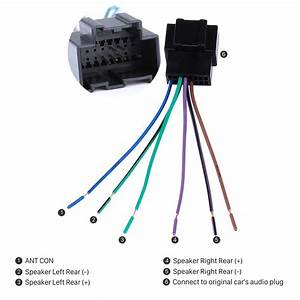 High Quality Wiring Harness Adapter Audio Cable And Radio