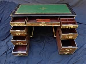 bureau napoleon iii office in boulle marquetry of napoleon iii period ref 44298