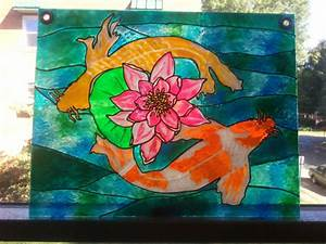 Faux, Stained, Glass, Painting