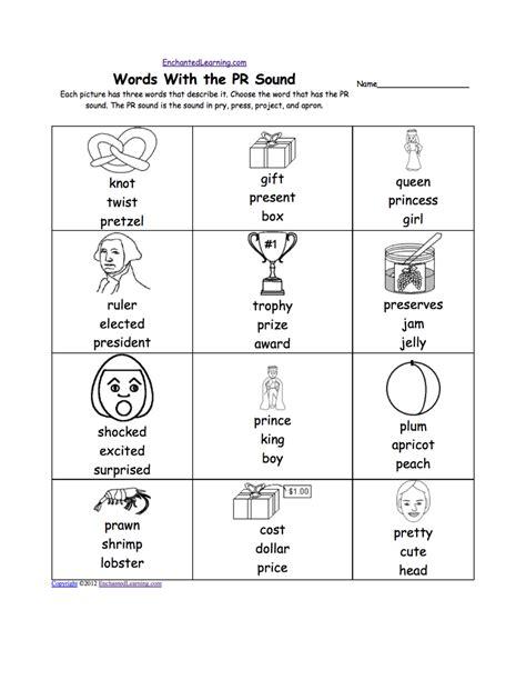 phonics worksheets kindergarten printables free pics
