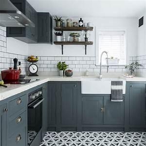 Cuisine Repeinte En Blanc : 1001 id es pour am nager une cuisine campagne chic charmante ~ Melissatoandfro.com Idées de Décoration