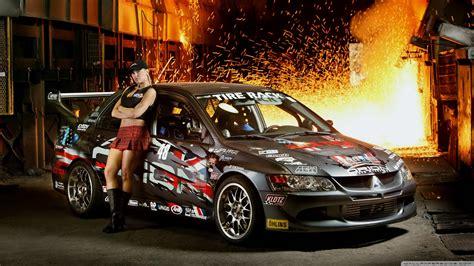 Racing Mitsubishi Car 4k Hd Desktop Wallpaper For 4k Ultra