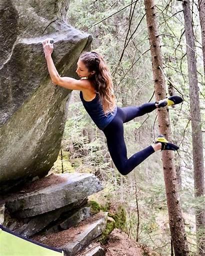 Katie Jo Myers Climbing