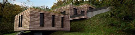 les maison en bois maison bois 224 toit plat toit terrasse