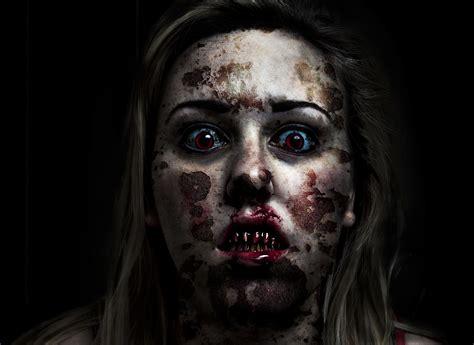 zombie amy popcorn horror