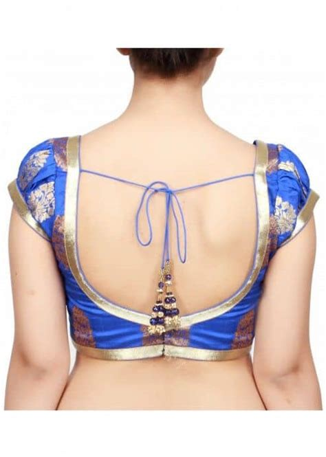 Blouse back neck designs - Simple Craft Ideas