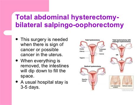 Collection of Hysterectomy With Bilateral Oophorectomy ...