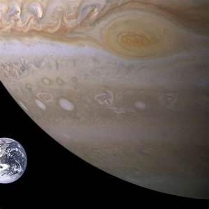 25+ Best Ideas about Jupiter Compared To Earth on ...