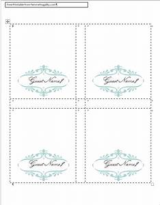 how to make your own place cards for free with word and With table placement template