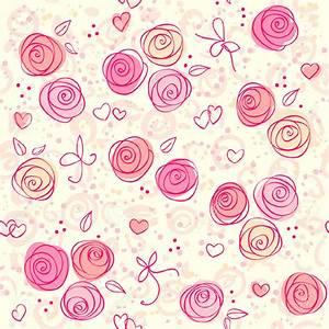 Pink Floral Wallpaper www pixshark com - Images