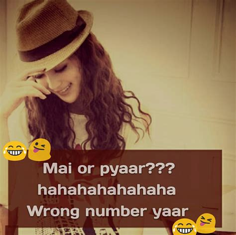 hahahhaha  shayari attitude quotes girly