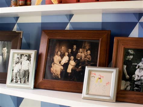 Wallpaper Bookcase Design by Add Graphic Pop To A Bookcase With Wallpaper Hgtv