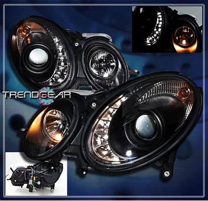 Drl Projector Headlights W211 Led Class Mercedes