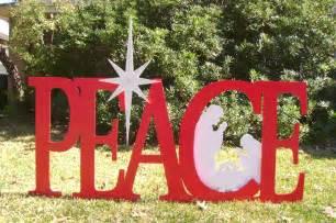 christmas yard signs made to order holiday yard art made by art de yard houston tx