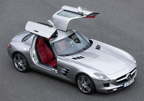 Cars With Gullwing Doors : What Is The Best Car-door Design Ever?