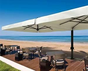 Parasol De Terrasse : parasol g ant de terrasse alu double scolaro 2 parasols 3x6m ou ~ Teatrodelosmanantiales.com Idées de Décoration