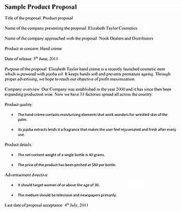 Cover Letter For Construction Bid Proposal Product Proposal Sample