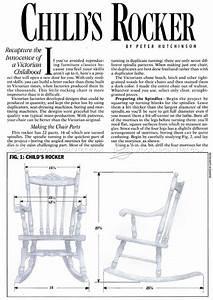 Kids Rocking Chair Plans • WoodArchivist