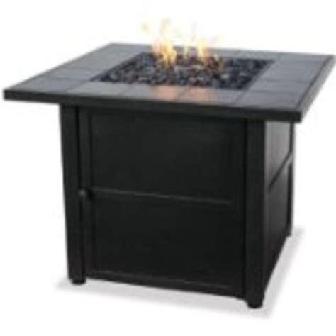 gas l mantles outdoor uniflame lp gas outdoor firebowl w slate tile mantel